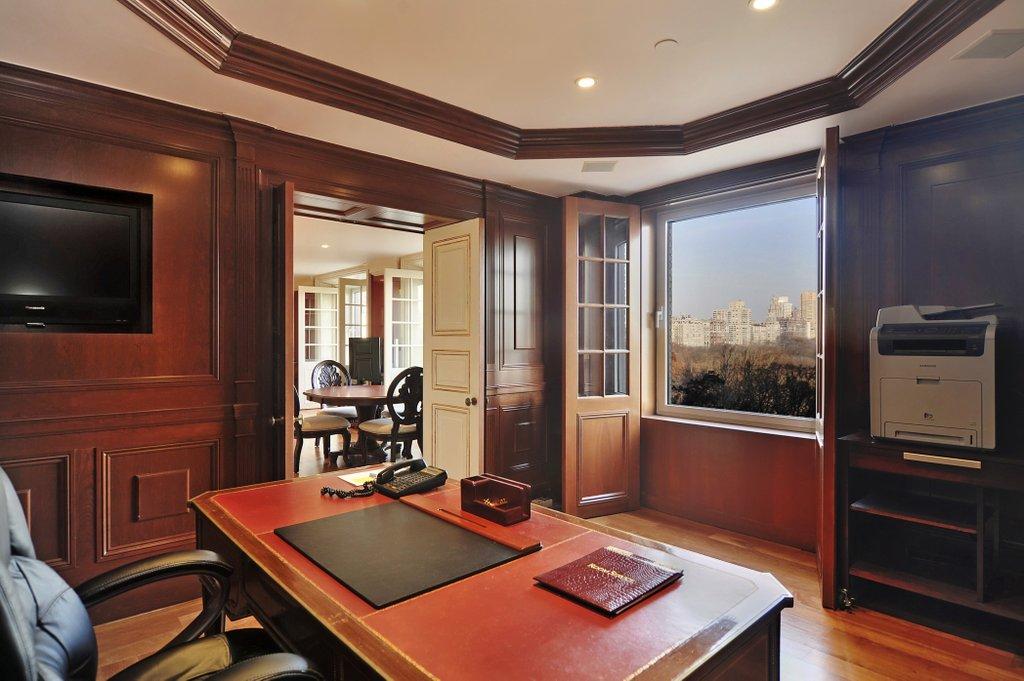 διαμέρισμα του David Bowie - γραφείο