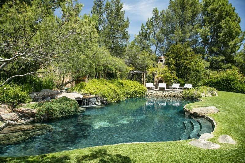 έπαυλη του Jeff Bridges - κήπος